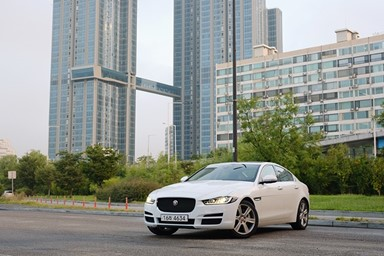 서울에서 인제까지...재규어 XE 2.0d AWD의 효율성은?