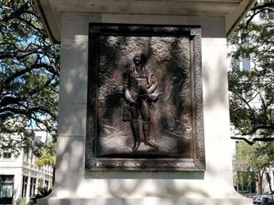 미 '독립전쟁 영웅' 추모비에 누가 인형 눈알을?