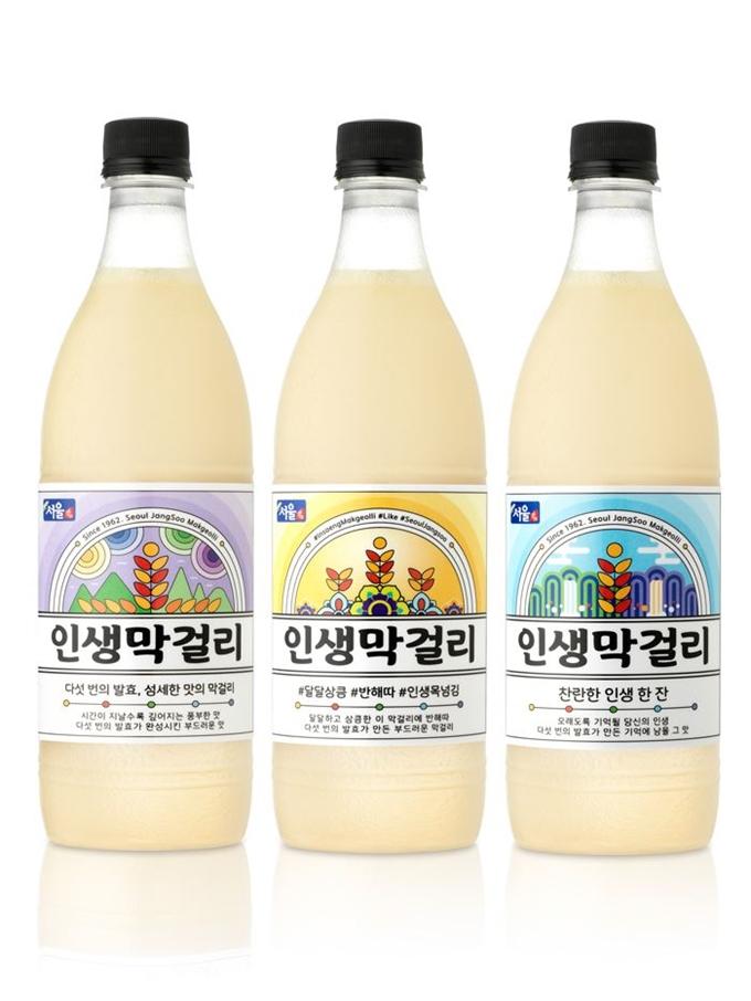 서울장수, 22년 만에 신제품 '인생막걸리' 출시