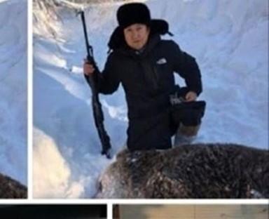 체육회 간부들, 선수 격려하러 간다더니… '곰' 사냥 의혹