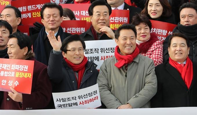 '신입당원' 황교안ㆍ오세훈 피선거권 논란 확산... 당 선관위 28일 긴급회의