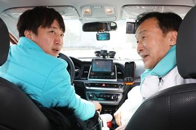 '손다방' 손학규 '택시기사' 이준석