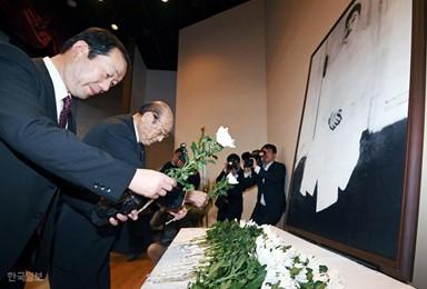 안중근 의사 추모하는 일본인들