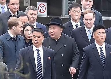김정은-푸틴, 북러정상회담