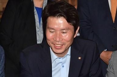 3당 원내대표 화기애애 '호프회동'