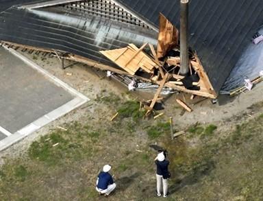 일본 니카타현 덮친 지진