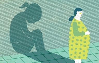 새엄마에게 학대 당한 예비 엄마의 눈물