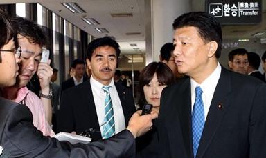 """日외무 부대신, 한국 반일 촛불시위 """"억지스럽다"""""""