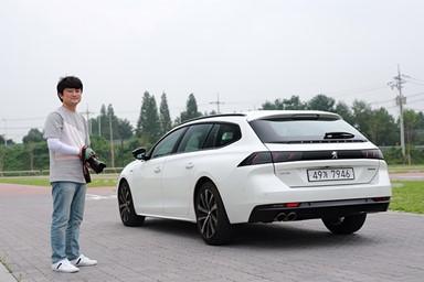 자동차 블로거 '미뉘'의 푸조 508 SW 시승기