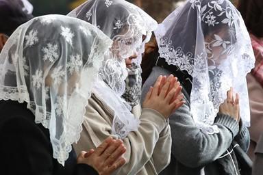 수능 앞둔 학부모들 '간절한 기도'
