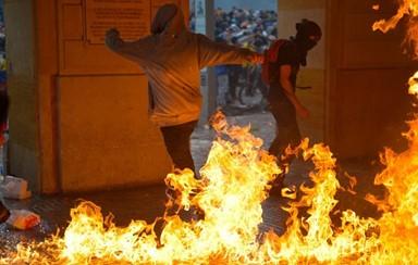 중남미 '반정부 시위'