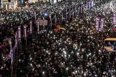 논란의 홍콩 '시위 관광' 만든 속내는 따로 있다