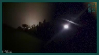 """""""조심해! 집 안으로 들어가"""" 이란 미사일에 아수라장 된 미군기지 [영상]"""