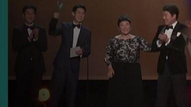 """'기생충' 또 일낸 뒤 송강호 """"영화를 잘못 만들지는 않았구나""""[영상]"""