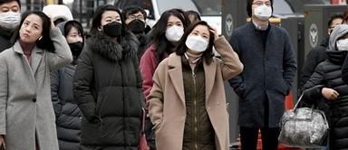 마스크 구매해 돌아가는 중국 여행객들