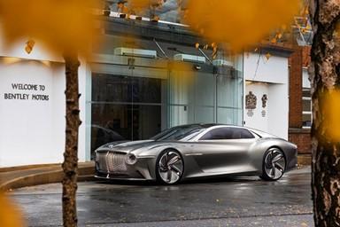 벤틀리, 2025년 브랜드 최초의 순수 전기차 투입