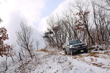 한국에서의 첫 겨울을 보내는 진짜 아메리칸 픽업트럭, 쉐보레 콜로라도