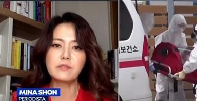 """손미나 """"韓 코로나는…""""외신 극찬 부른 인터뷰"""