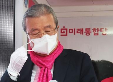 """김종인, 윤리위 차명진 탈당권유에 """"한심한 사람들"""""""