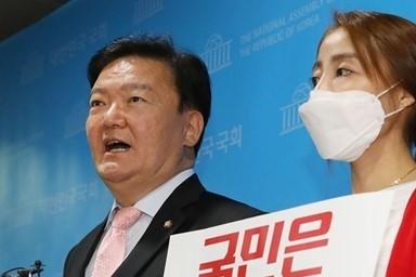 민경욱, 4ㆍ15 총선 부정선거 의혹 제기