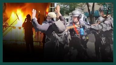 분노한 시위대 vs 강경 대응 트럼프, 격해지는 강대강 대치