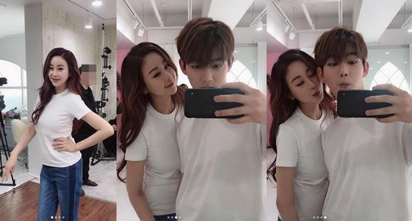 '진화♥' 함소원, 출산 한달 만 완벽 미모·몸매…역시 미코