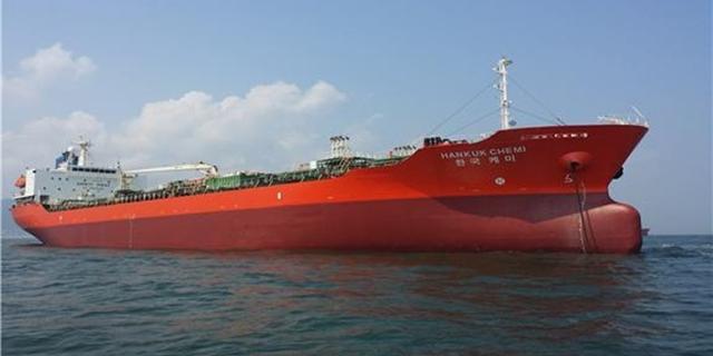 이란에서 포획 된 우리 유조선 … 청해 군도 호르 무즈 해협에 파견