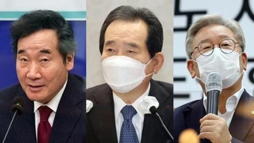 '삼룡', 정세균 '보상'· 이낙연 '쉐어'승패