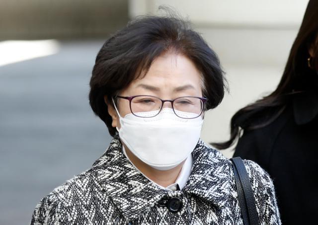 김은경 2 년 징역 6 월 법정 체포