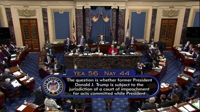 트럼프 탄핵 1 차, 민주당 원 승리