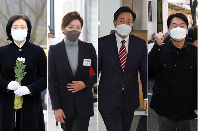 박영선 38.9 % vs 안철수 36.3 % … 박영선 39.7 % vs 나경원 34 %