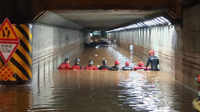 3 명이 숨진 부산 초량 지하철도 참혹한 …
