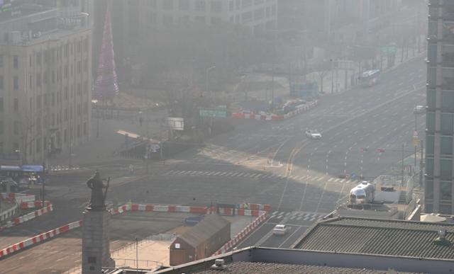 설 연휴 마지막 날에도 미세 먼지 발생 … 수도권 및 충청권 긴급 경감 대책 실시