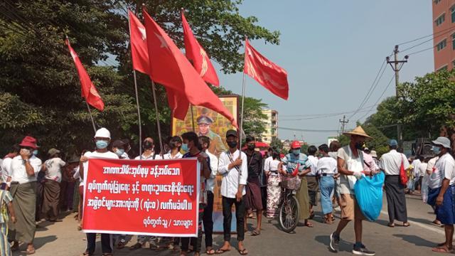 '군정의 개를 거부한다'… 미얀마 시민들은 자치 단체와 마주한다