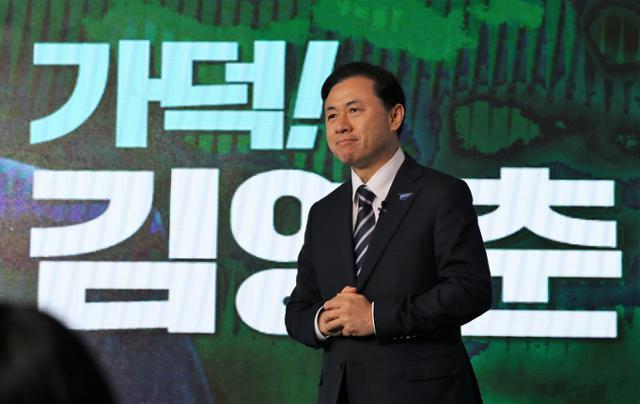 전 부산 시장 후보 '가덕'김영천… 우리 다시 여론을 뒤집을까요?