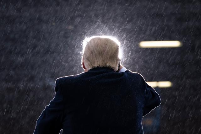 트럼프 대통령의 불만족 소송은 몇 달 만에 '전쟁 패배'로 끝났다