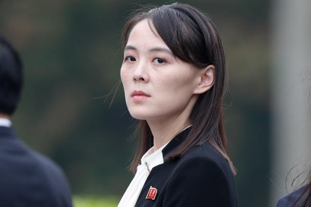 김여정, '경고', 한국 '미친 개'미국 '수위 조절'