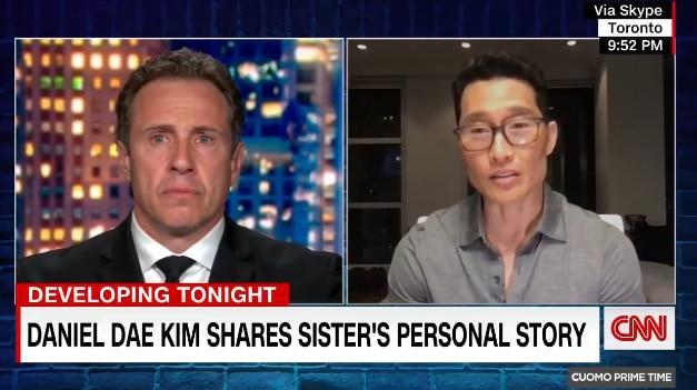 """한국 다니엘 vs 김 """"언니도 증오 범죄 피해자""""… 할리우드 스타 '아시아 증오 중지'"""