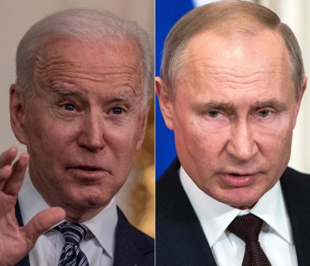 """바이든 """"푸틴은 살인자"""", 푸틴 """"너도 그렇게 불릴거야"""""""