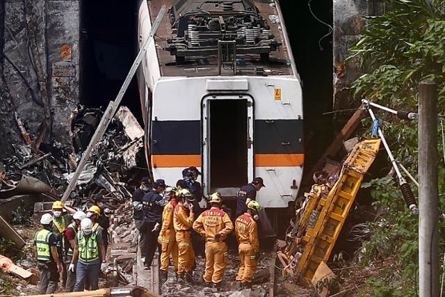 대만 기차 사고로 각국의 애도와 도움의 손길 계속