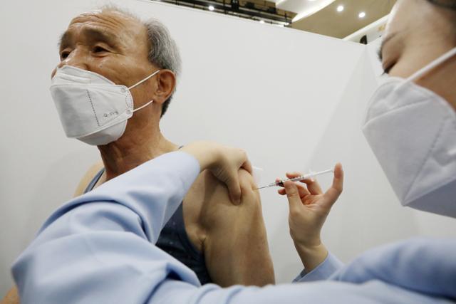 코로나 19 1 분기 예방 접종률 85.6 % 신규 사망보고 2 건