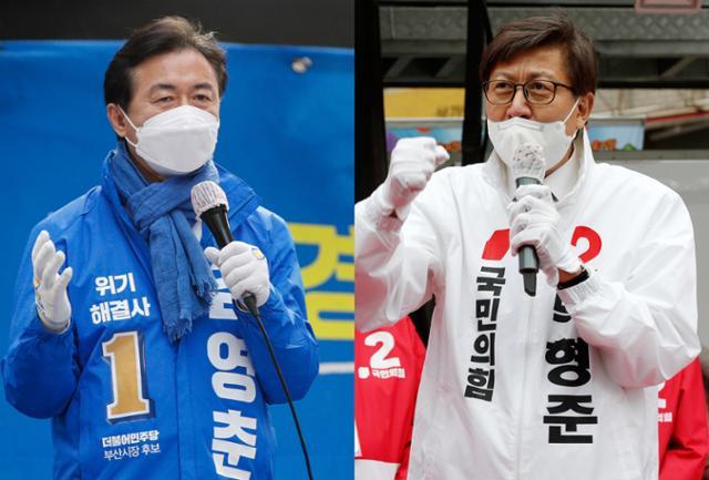 김영천의 '48 시간 집중 캠페인 ', 박형준의'1 박 2 일 투지 캠페인 '