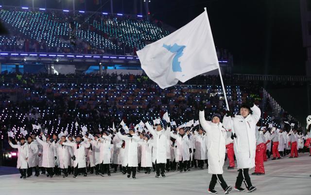 북일 관계 파국… 북한에 대한 '확장'제재로 북한의 대북 올림픽 부재