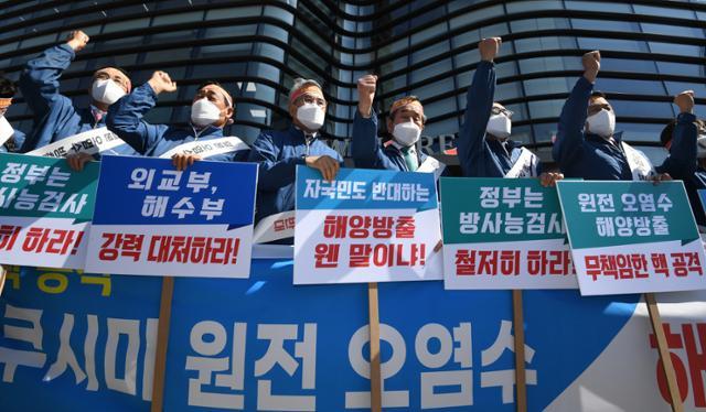 """일본이""""한국이 더 많은 원자력 오염 수를 버린다""""고 주장하는 것이 사실입니까?"""